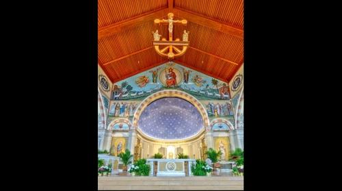 St Pius X | From beneath the cross - Granger, IN