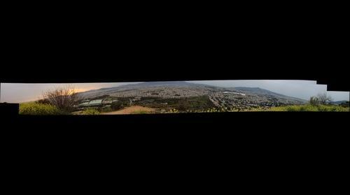η Αθήνα από το λόφο της Φιλοθέης
