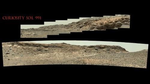 Curiosity Sol 991