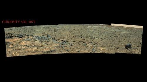 Curiosity Sol 1072