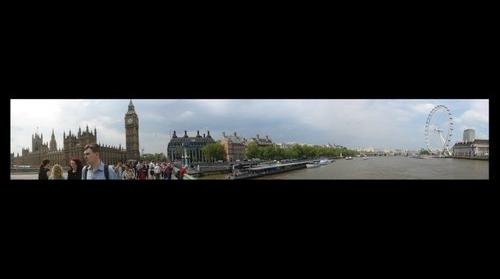 London - Big Ben, Westminster bridge & London Eye