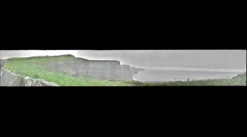 Foggy Day at the Cliffs of Moher