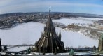 Looking north from the Peace Tower, Canada&#39;s Parliament Buildings, Ottawa, Ontario