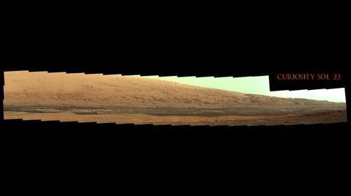 Curiosity Sol 23