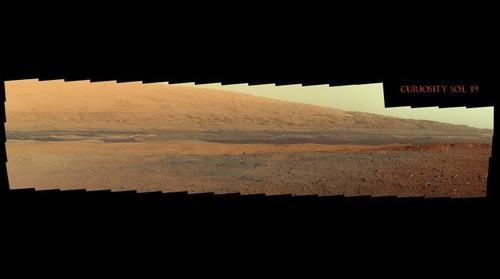 Curiosity Sol 19