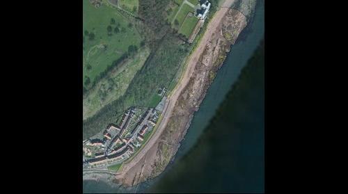 Shore at West Wemyss, Fife, v2
