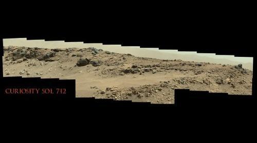 Curiosity Sol 712