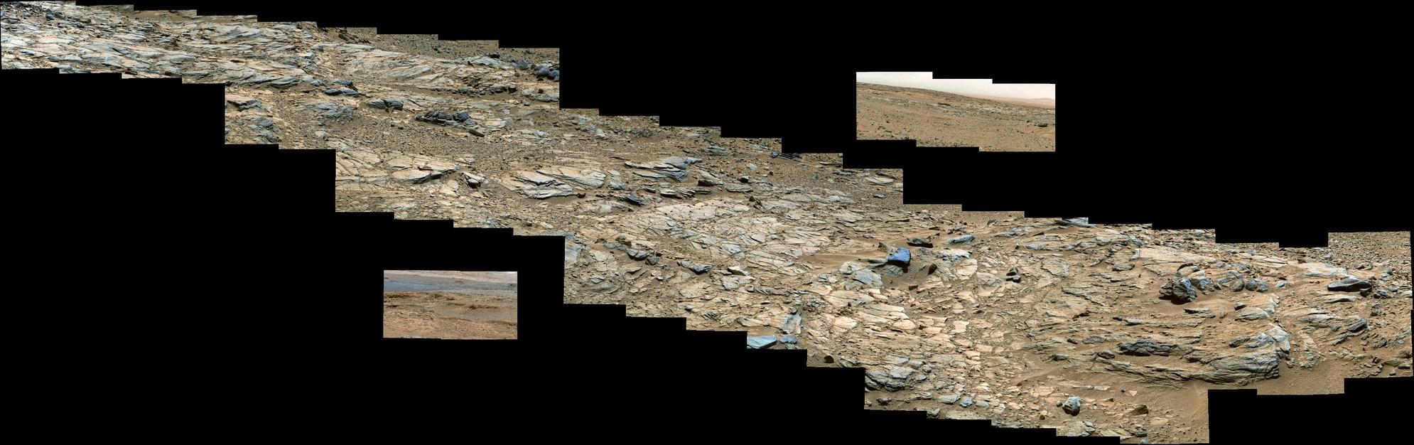 Curiosity Rover Sol 717 Composites