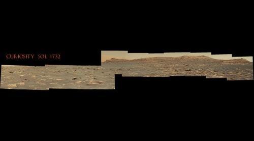 Curiosity Sol 1732 - Browse