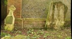 Hursley Churchyard, back wall detail (a5)