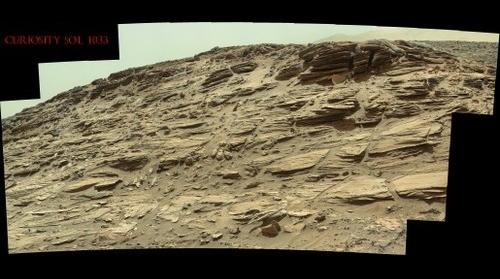Curiosity Sol 1033
