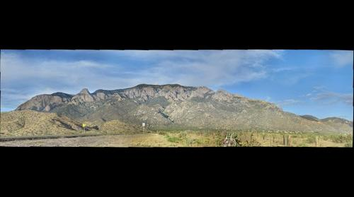 Sandia Mountains, Albuquerque (NM) - View 1