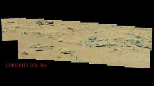 Curiosity Sol 566