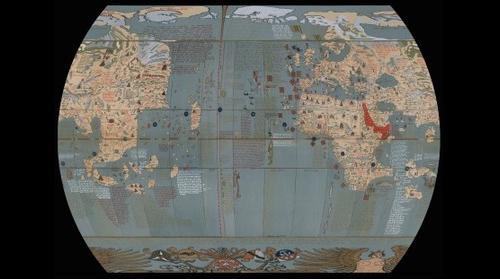 Martin Behaim's Erdapfel, 1492
