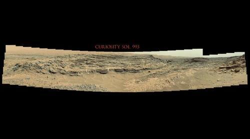 Curiosity Sol 993
