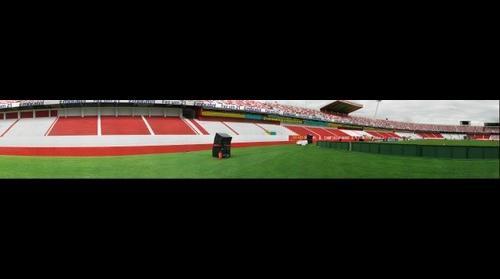 SuperFOTO do jogo Brasil x Peru - Preparativos no Estadio Gigante da Beira Rio - Porto Alegre - Brasil
