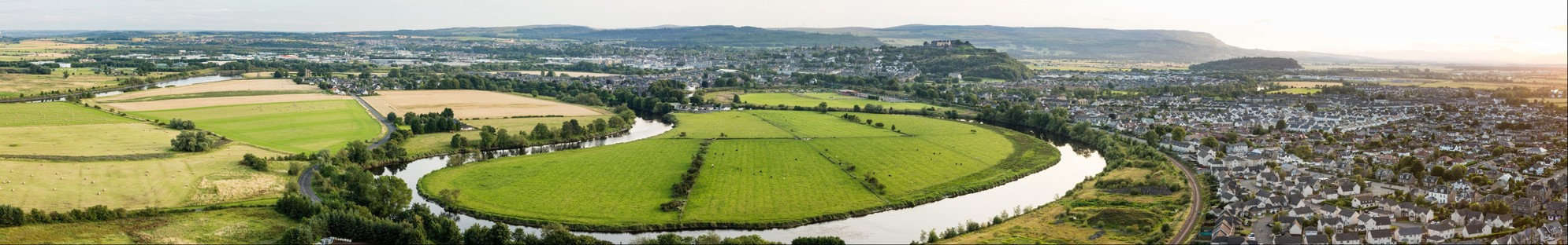 Stirling from Wallace Monument