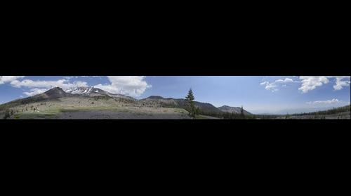 360 degree view of Mt. Shasta