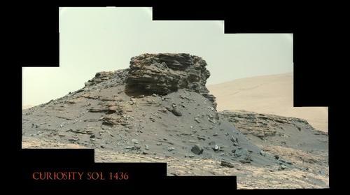 Curiosity Sol 1436