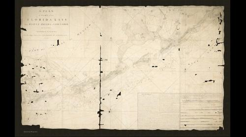 George Gauld's Plan of the Tortugas and Part of the Florida Kays