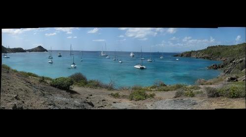 Anse de Colombier Harbor, St. Barts FWI