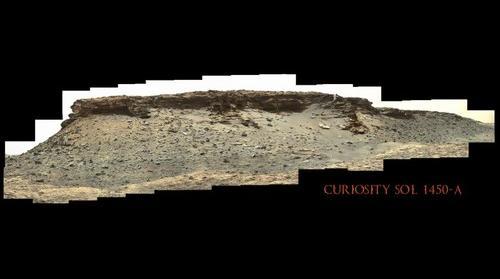 Curiosity Sol 1450-A
