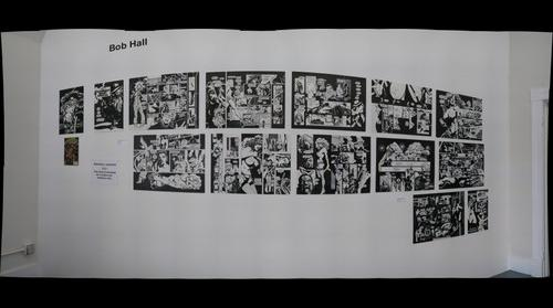 Comic Book Art By Bob Hall