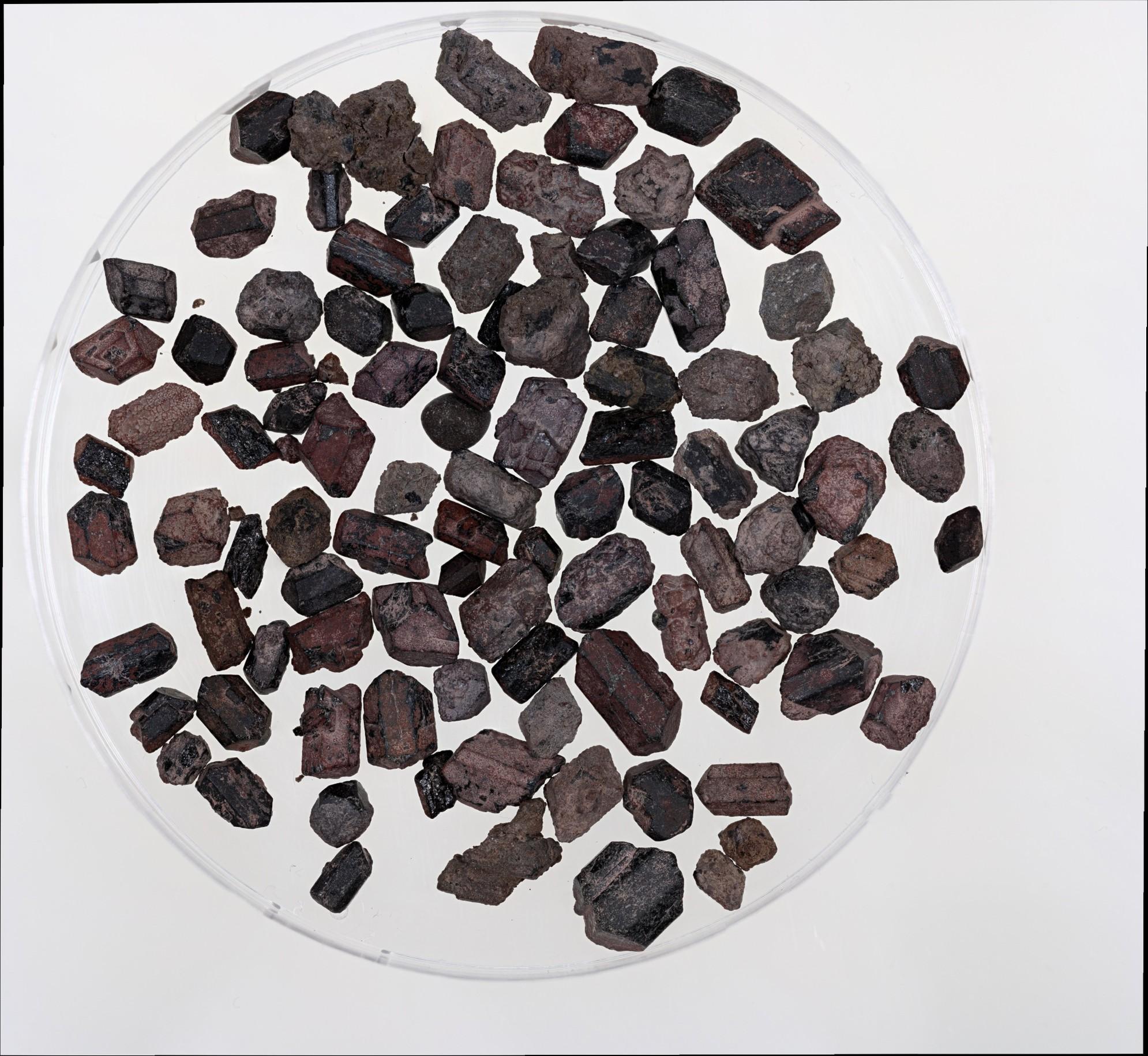 Mineral Separates from Mt. Vesuvius