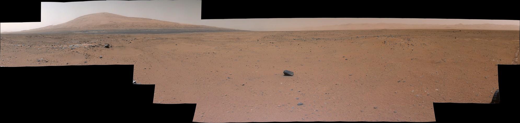 MSL Curiosity SOL 375