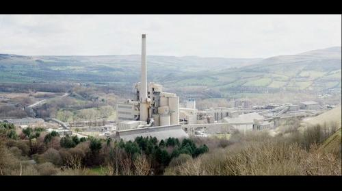 Lafarge Cement Works in Hope