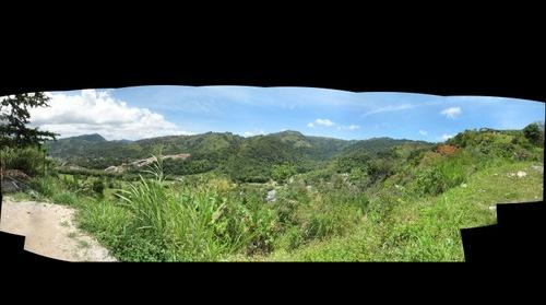 One of Trinidad's valleys