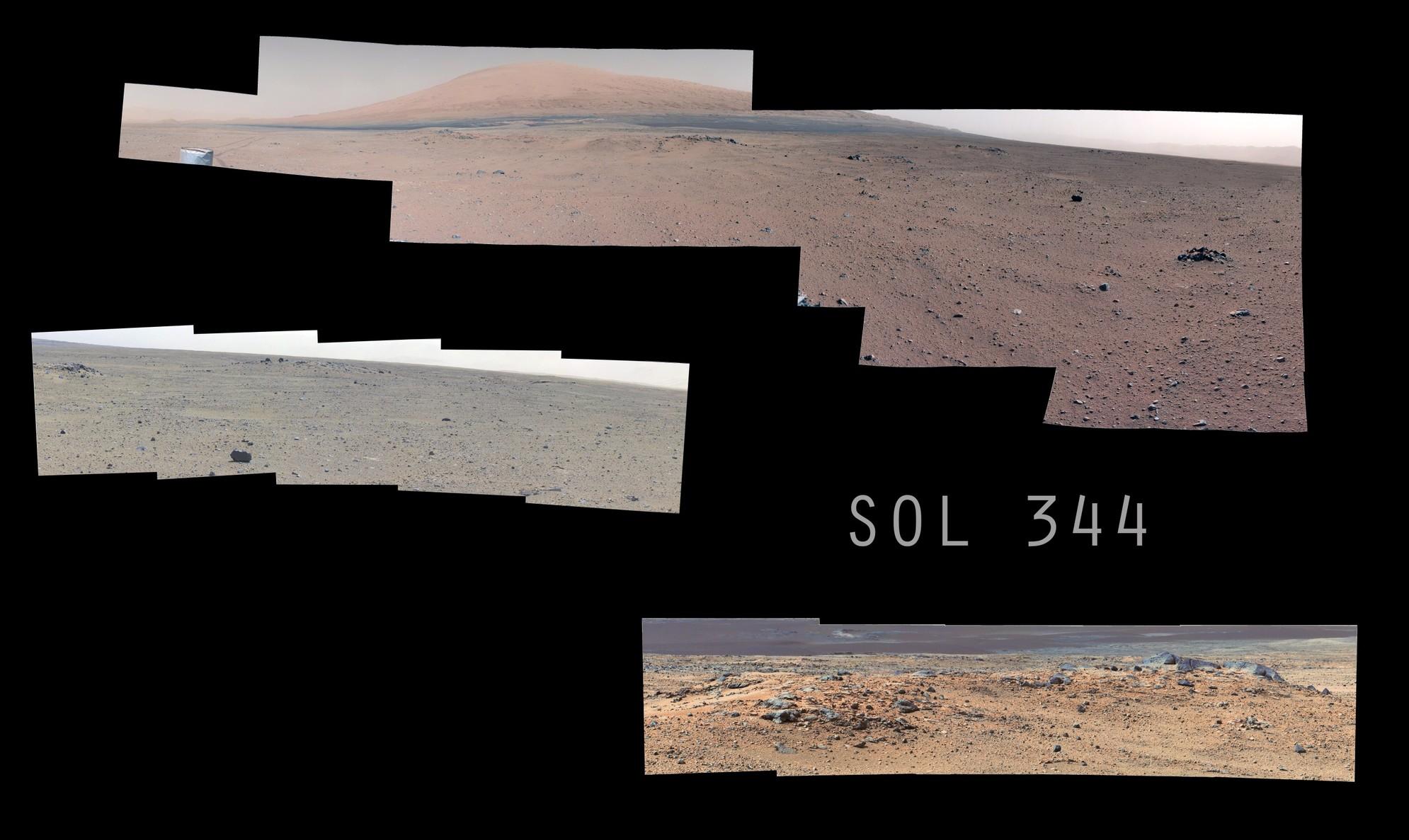 MSL Curiosity - SOL 344 Composite