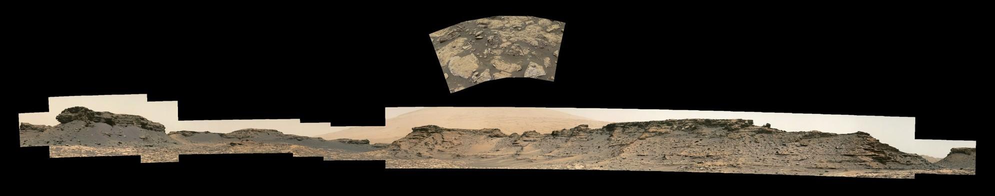 Curiosity Rover Sol 1441 Composites