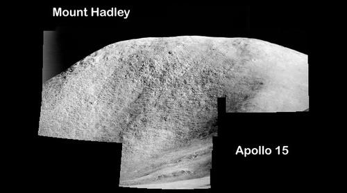Apollo 15 Mt Hadley Panorama