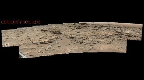 Curiosity Sol 1278