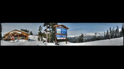 Papoose Junction, Whistler Mountain, Vancouver, BC