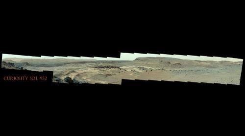 Curiosity Sol 952