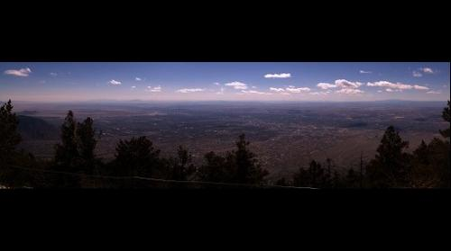 Western View from Sandia Crest