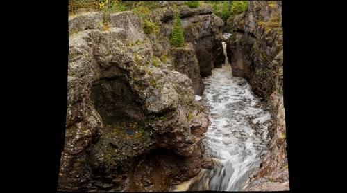 Temperance River gorge, Minnesota