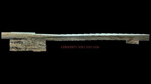 Curiosity Sols 1115-1126