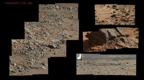 Curiosity Sol 486