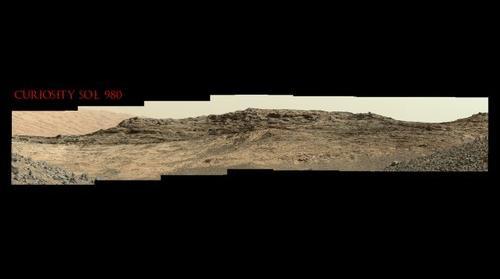 Curiosity Sol 980