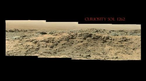 Curiosity Sol 1262