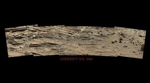 Curiosity Sol 1066