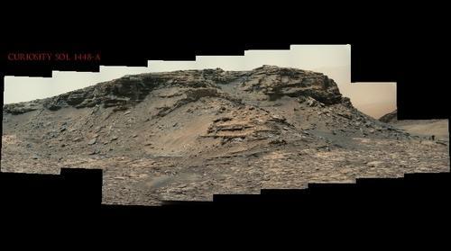 Curiosity Sol 1448 A