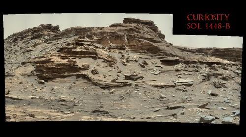 Curiosity Sol 1448 B