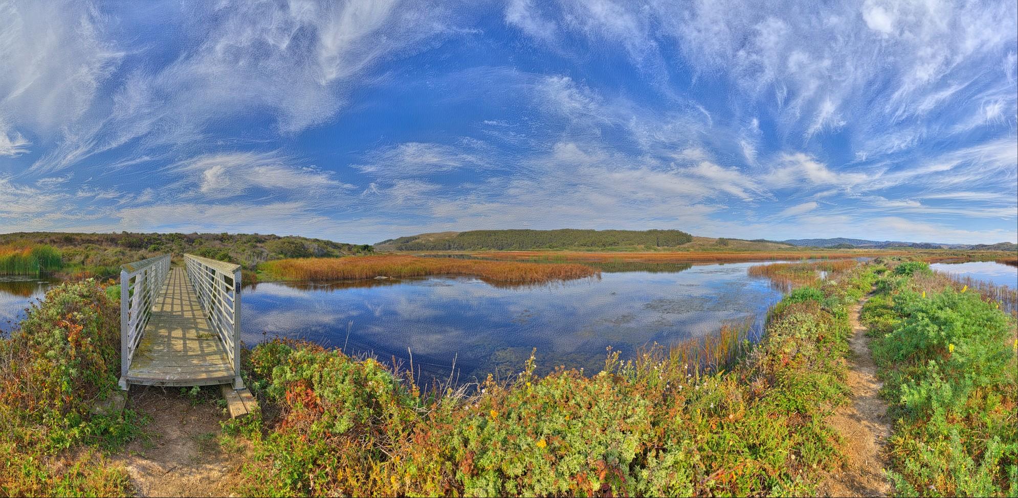 Dreamscape: Pescadero Marsh Natural Preserve, Pescadero, CA