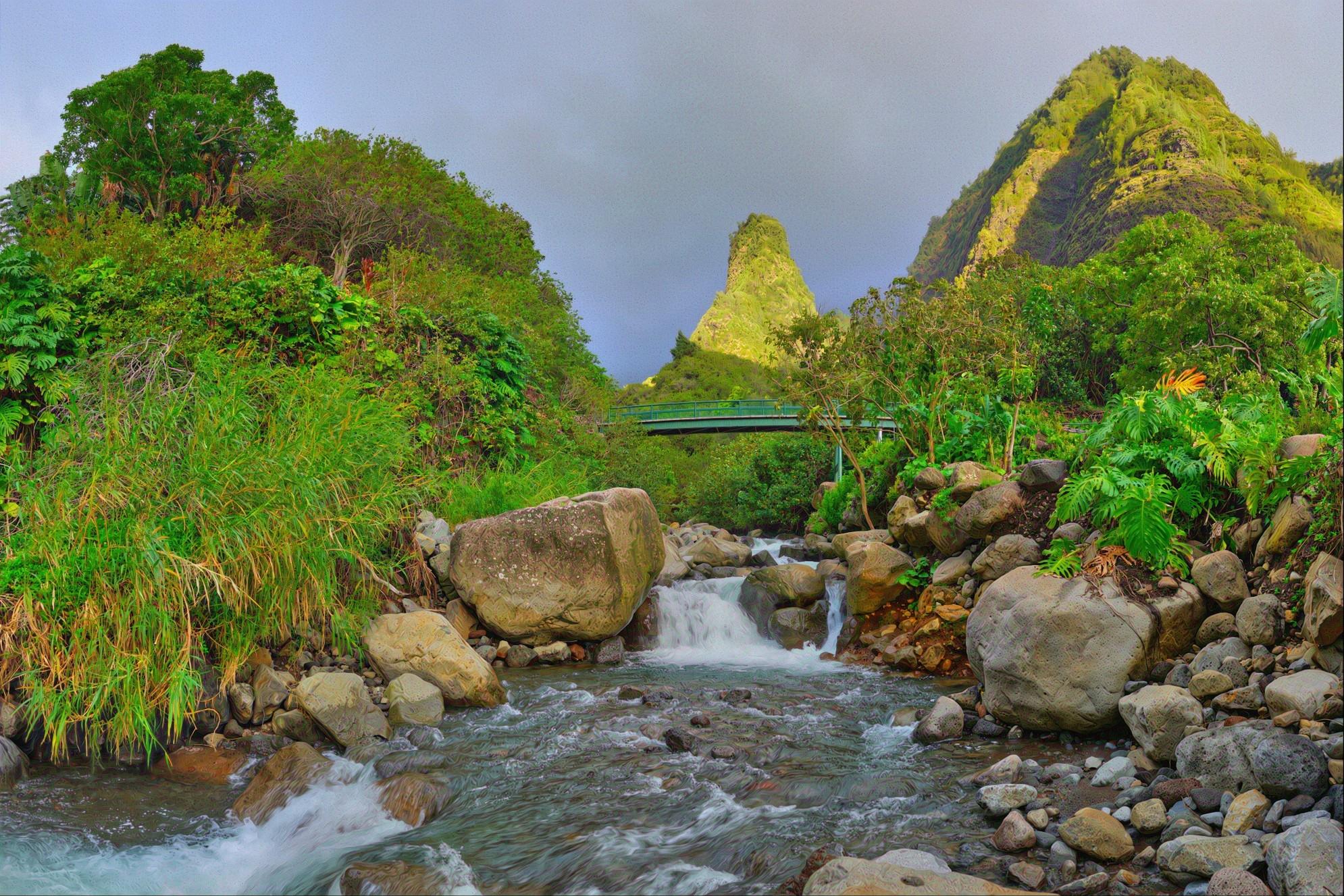 Dreamscape: The Needle (Iao Valley) #4, Maui, HI