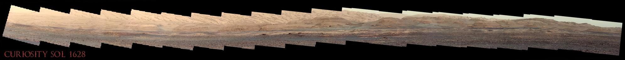 Curiosity Sol 1628