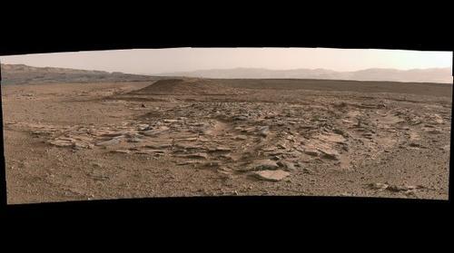 MSL Curiosity Rover Sol 590